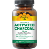 Country Life Activated Charcoal 260 mg 100 caps C34926