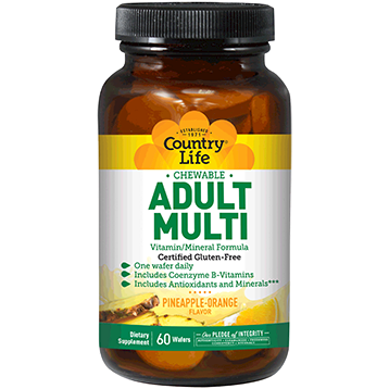 Country Life Adult Multi Chew 60 wafers C80305