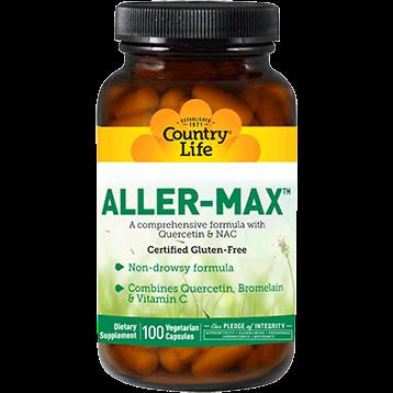 Country Life Aller Max 100 vegetarian capsules C16106
