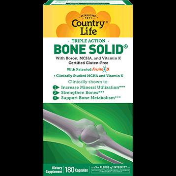 Country Life Bone Solid 180 caps C50339