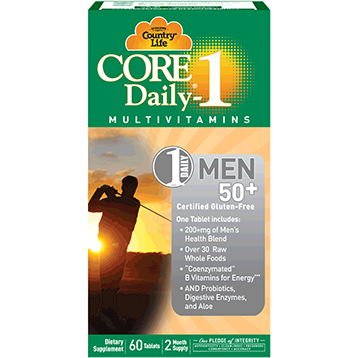 Country Life Core Daily 1 Mens 50 60 tabs C81944
