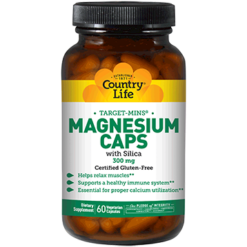 Country Life Magnesium Caps 300 mg 60 vegcaps C24743