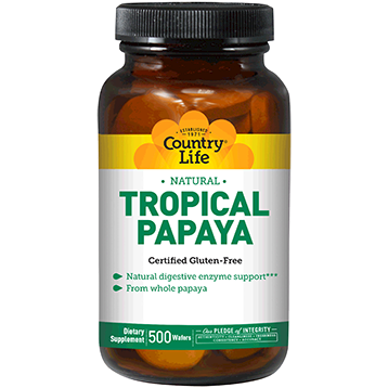Country Life Tropical Papaya 500 wafers C53842