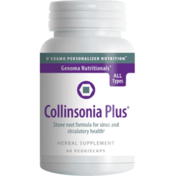 DAdamo Personalized Nutrition Collinsonia Plus 60 vegcaps COL35
