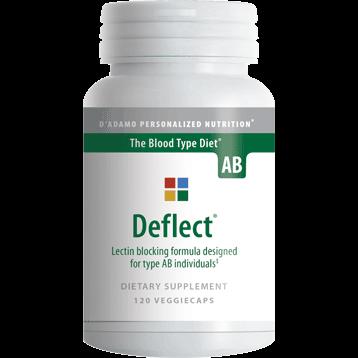 DAdamo Personalized Nutrition Deflect AB 120 vegetarian capsules N00508