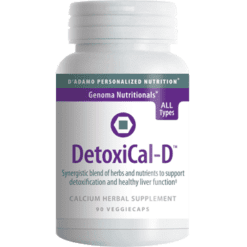 DAdamo Personalized Nutrition DetoxiCal D 90 vcaps NP053