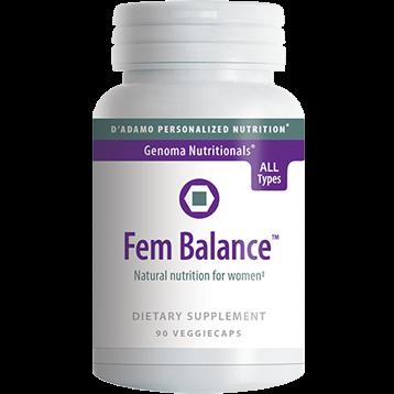DAdamo Personalized Nutrition FemBalance 90 vegcaps FEMB2