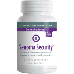 DAdamo Personalized Nutrition Genoma Security 60 vegetarian capsules NP048