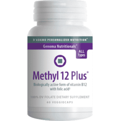 DAdamo Personalized Nutrition Methyl 12 Plus 60 vcaps NP008
