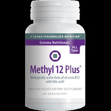 DAdamo Personalized Nutrition Methyl 12 Plus 60 vcaps NP008