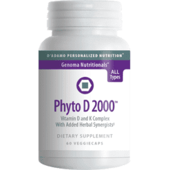 DAdamo Personalized Nutrition Phyto D 2000 60 vcaps NP066