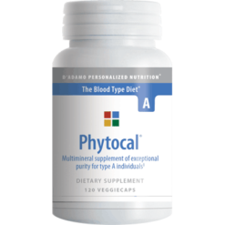 DAdamo Personalized Nutrition Phytocal A 120 vegcaps PHYA