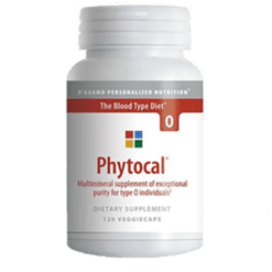 DAdamo Personalized Nutrition Phytocal O 120 vegcaps PHYO