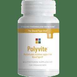 DAdamo Personalized Nutrition Polyvite B 120 vegcaps POLY6