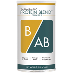 DAdamo Personalized Nutrition Protein Blend Powder B AB 1 lb N00362