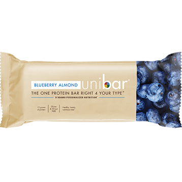 DAdamo Personalized Nutrition Uni Bar Blueberry Almond 12 Bars D85447