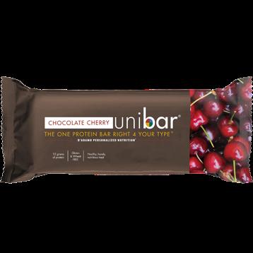 DAdamo Personalized Nutrition Uni Bar Chocolate Cherry 12 Bars D85454