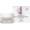 DERMA E Natural Bodycare Adv Peptides amp Collagen Eye Cream 0.5 oz D07756