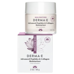 DERMA E Natural Bodycare Adv Peptides amp Collagen Moisturizer 2 oz D07008
