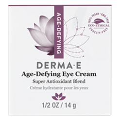 DERMA E Natural Bodycare Age Defying Eye Crème 0.5 oz D21752