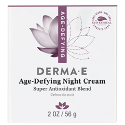 DERMA E Natural Bodycare Age Defying Night Crème 2 fl oz D21004