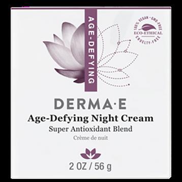 DERMA E Natural Bodycare Age Defying Night Crème 2 fl oz D21004