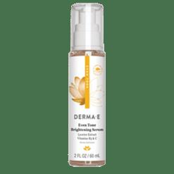 DERMA E Natural Bodycare Evenly Radiant Brightening Serum 2 fl oz D90352