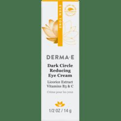 DERMA E Natural Bodycare Evenly Radiant Eye Cr me .5 oz D03758