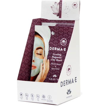 DERMA E Natural Bodycare Firming Magnetic Clay Mask 18 Masks D42009