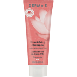 DERMA E Natural Bodycare Hydrate Smooth Nourish Shampoo 8 fl oz D63004