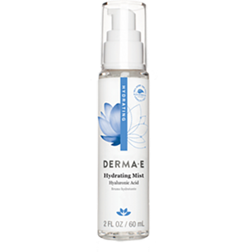 DERMA E Natural Bodycare Hydrating Mist w Hyaluronic Acid 2 oz D04649
