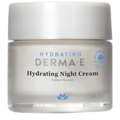 DERMA E Natural Bodycare Hydrating Night Crème 2 fl oz D04663