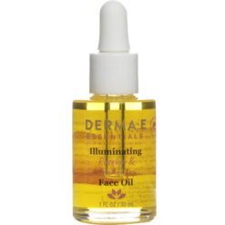 DERMA E Natural Bodycare Illuminating Face Oil 1 fl oz D14402