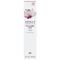 DERMA E Natural Bodycare Overnight Peel 2 oz D14907