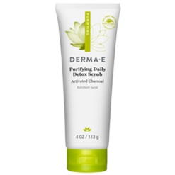 DERMA E Natural Bodycare Purifying Daily Detox Scrub 4 oz D12309