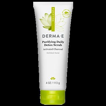 DERMA E Natural Bodycare Purifying Daily Detox Scrub 4 oz D12309
