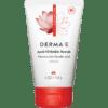 DERMA E Natural Bodycare Refining Vitamin A Glycolic Scrub 4 oz D04830