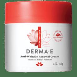DERMA E Natural Bodycare Refining Vitamin A Wrinkle Crème 4 oz D04809