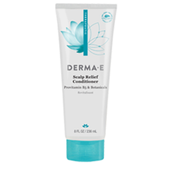 DERMA E Natural Bodycare Scalp Relief Conditioner 8 oz D87406