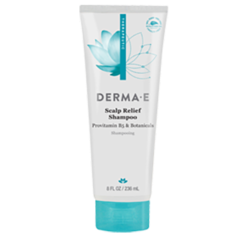 DERMA E Natural Bodycare Scalp Relief Shampoo 8 oz D87307