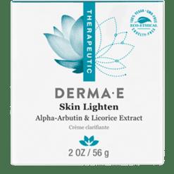 DERMA E Natural Bodycare Skin Lighten 2 oz D04755