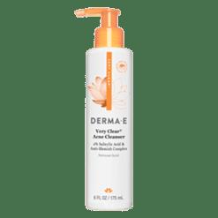 DERMA E Natural Bodycare Very Clear Acne Cleanser Oily 6 oz D37005