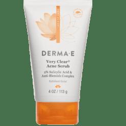 DERMA E Natural Bodycare Very Clear Scrub 4 oz D37500