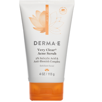 DERMA E Natural Bodycare Very Clear Scrub 4 oz D37500