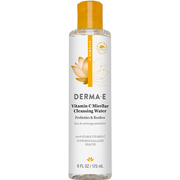 DERMA E Natural Bodycare Vitamin C Micellar Cleansing Wtr 6 fl oz D03550