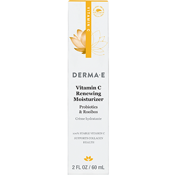 DERMA E Natural Bodycare Vitamin C Renewing Moisturizer 2 fl oz D03604