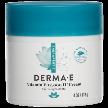 DERMA E Natural Bodycare Vitamin E Severely Dry Skin Crème 4 oz D04458