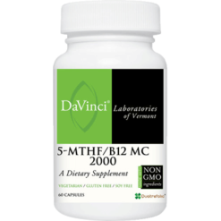 DaVinci Labs 5 MTHF B12 MC 2000 60 caps D03348