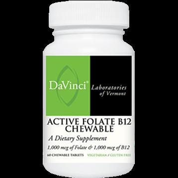 DaVinci Labs Active Folate B12 60 chews DV0841