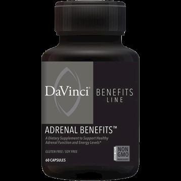 DaVinci Labs Adrenal Benefits 60 caps DV5496